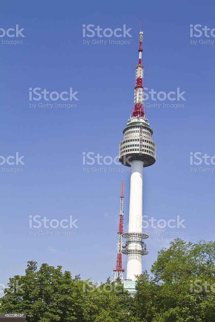 Seoul Tower,Korea royalty-free stock photo