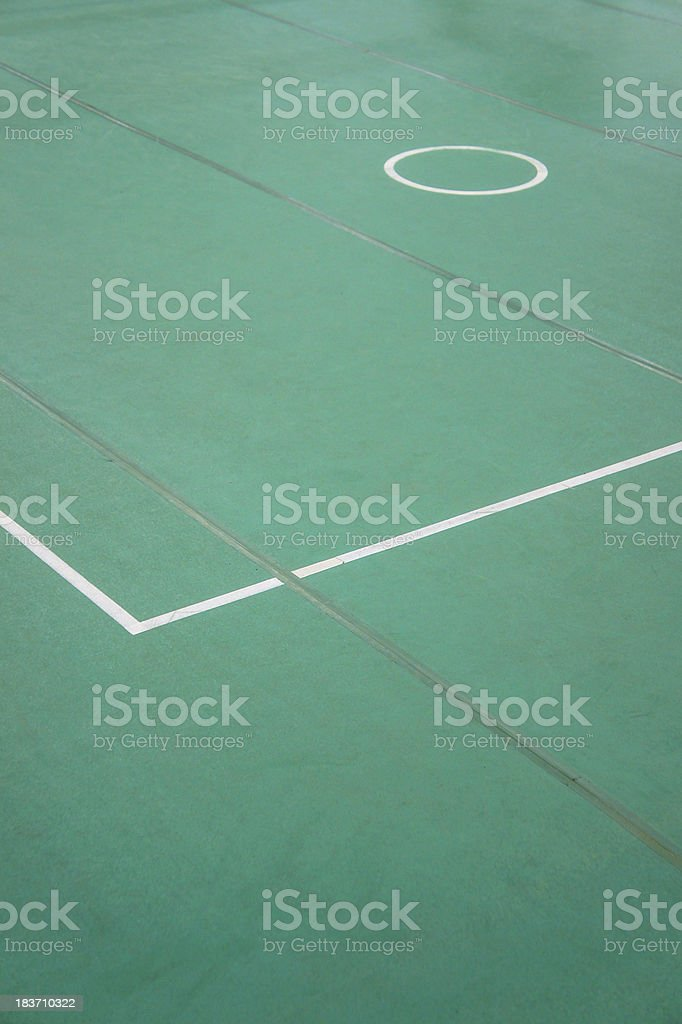 Sepaktakraw court royalty-free stock photo