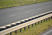 Separator on highway