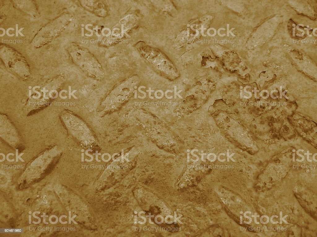 Sepia Background Shapes royalty-free stock photo