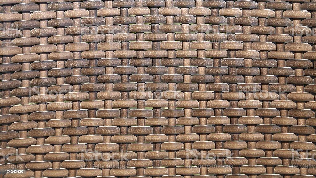 Sepia basket weave pattern. Vignette. royalty-free stock photo