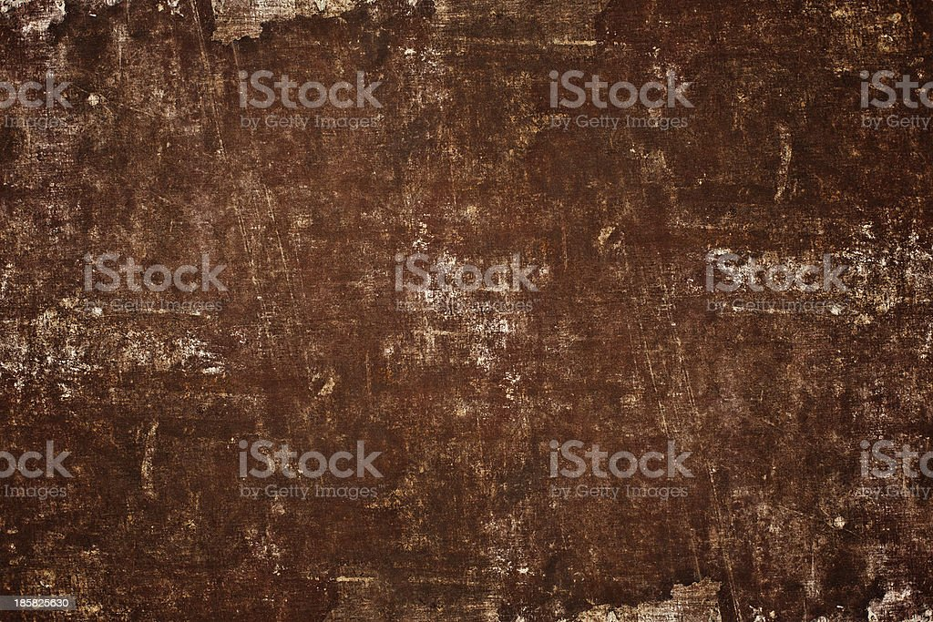 sepia grunge scratched shabby book grained texture royalty-free stock photo