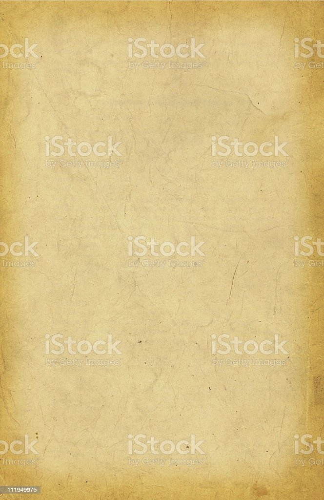 Sepia paper stock photo