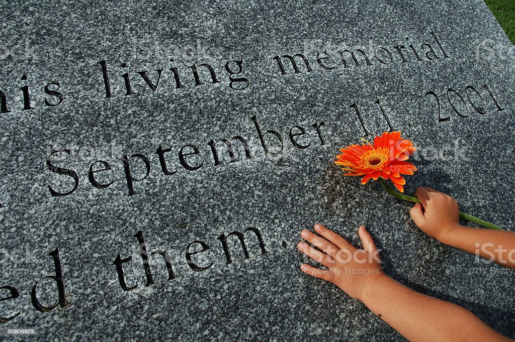 Sept 11 Memorial stock photo