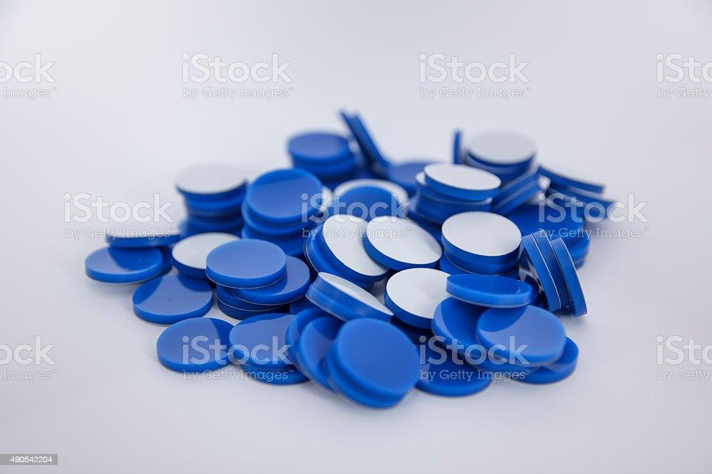 Septa PTFE/silicone 20mm stock photo
