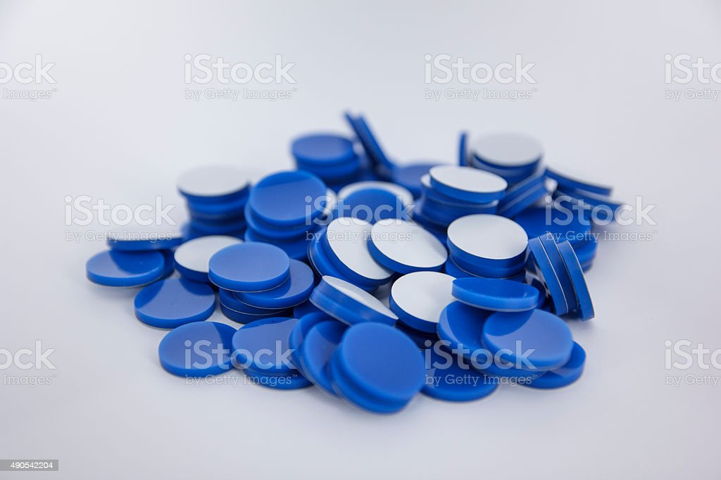 Septa PTFE/silicone 20mm stock photo