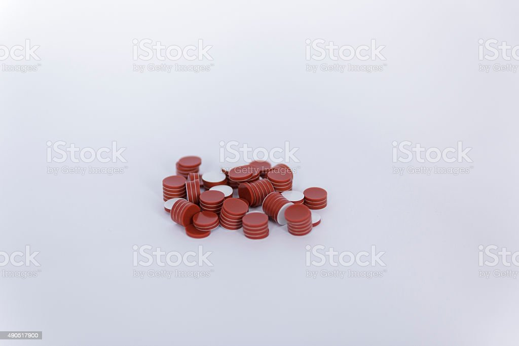 Septa PTFE/silicone stock photo