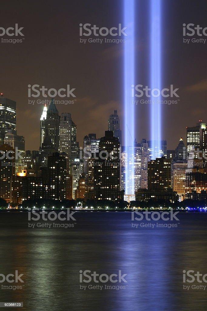September 11 royalty-free stock photo