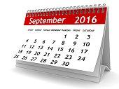 September 2016 - Calendar series