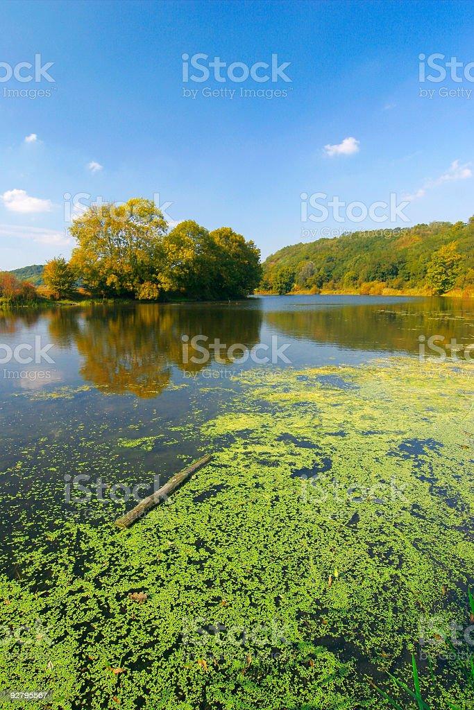 September Lake I royalty-free stock photo