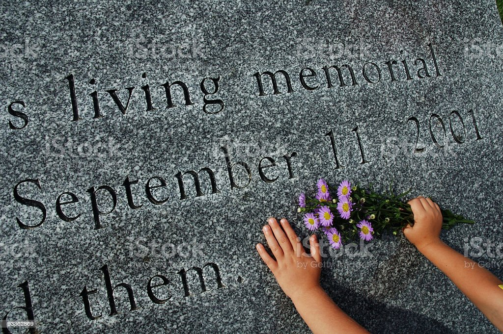 September Memorial stock photo
