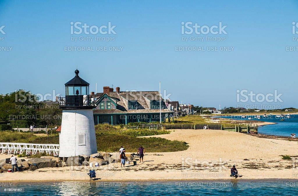 September on Nantucket stock photo