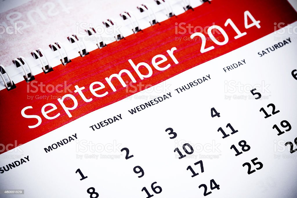 September royalty-free stock photo