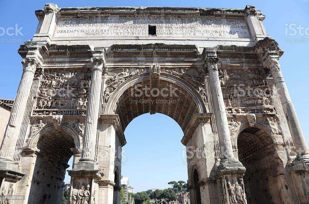 Septimius Severus royalty-free stock photo