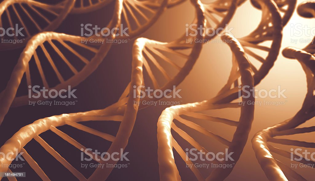 DNA Sequence royalty-free stock photo