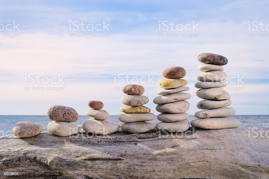 Sequential row stock photo