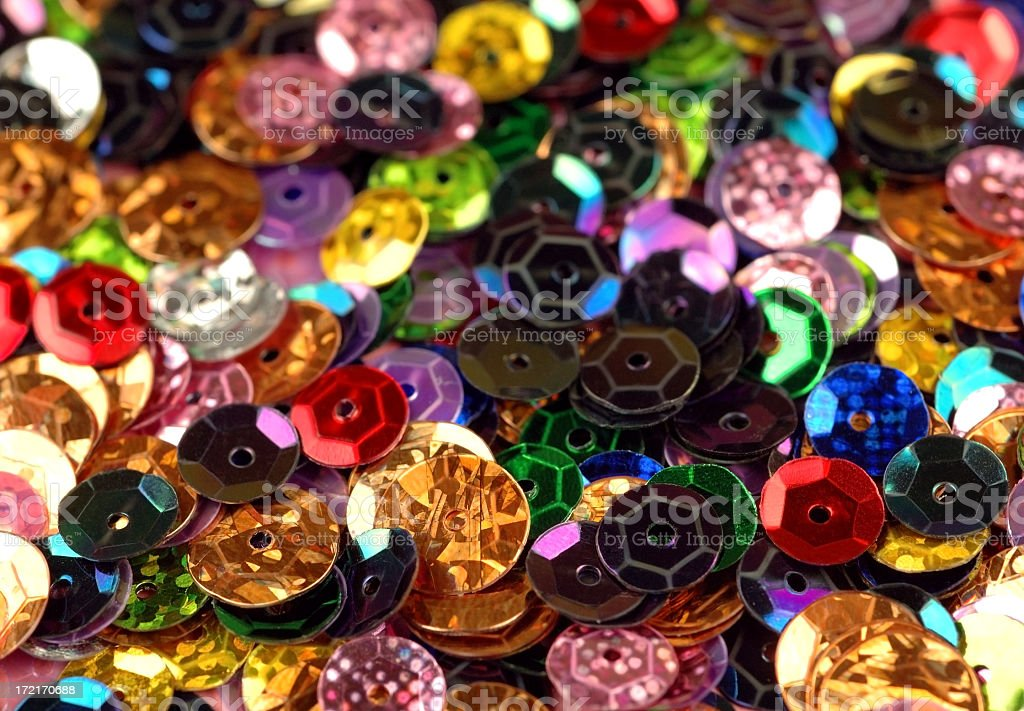 Sequins background royalty-free stock photo