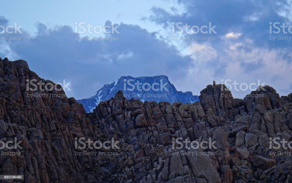 Sequoia National Park Peak stock photo
