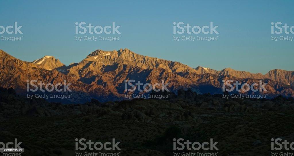 Sequoia Stone Light stock photo