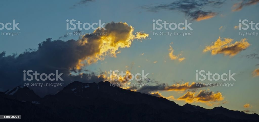 Sequoia Sunset stock photo
