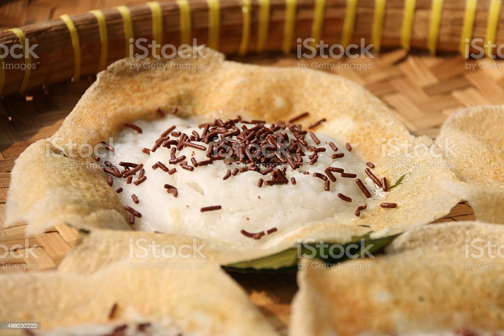 Serabi Solo, Popular Pancake from Solo stock photo