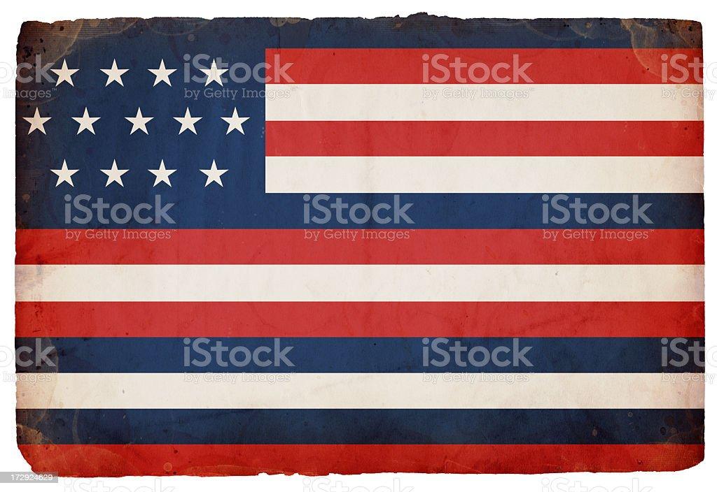 Serapis A.K.A. Franklin Flag XXXL royalty-free stock photo