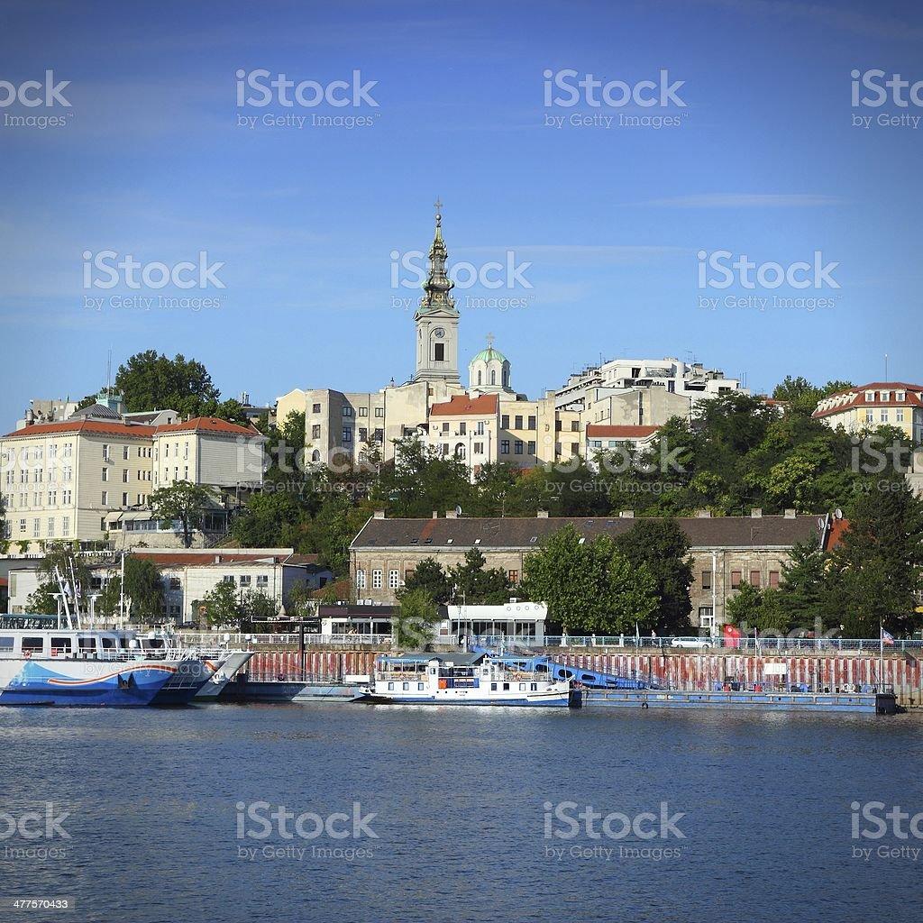 Serbia - Belgrade royalty-free stock photo