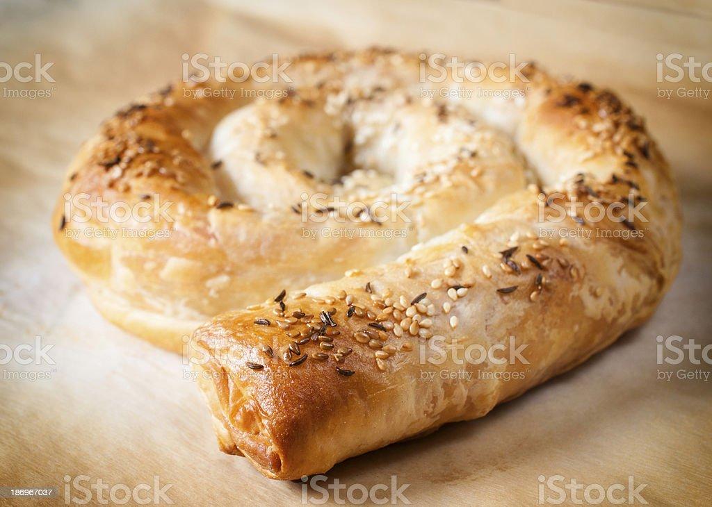 Serbian pie royalty-free stock photo