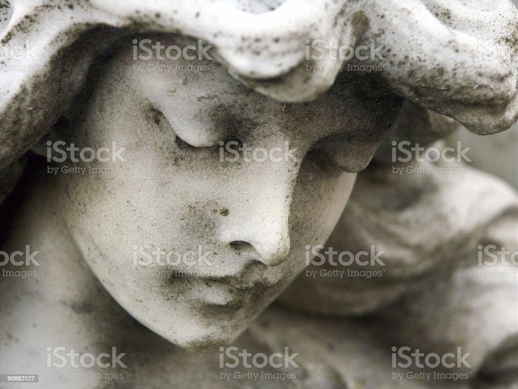 Serene Angel stock photo