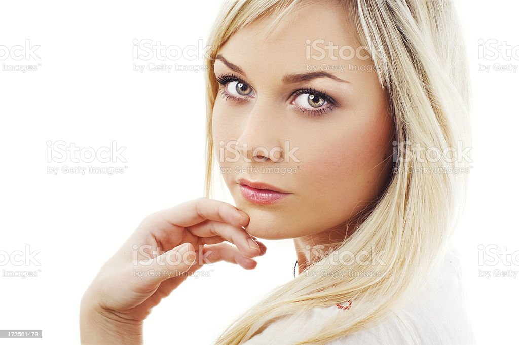 serene beauty royalty-free stock photo