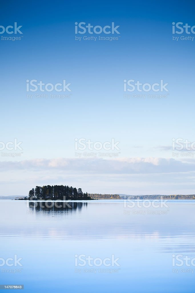 serene island royalty-free stock photo