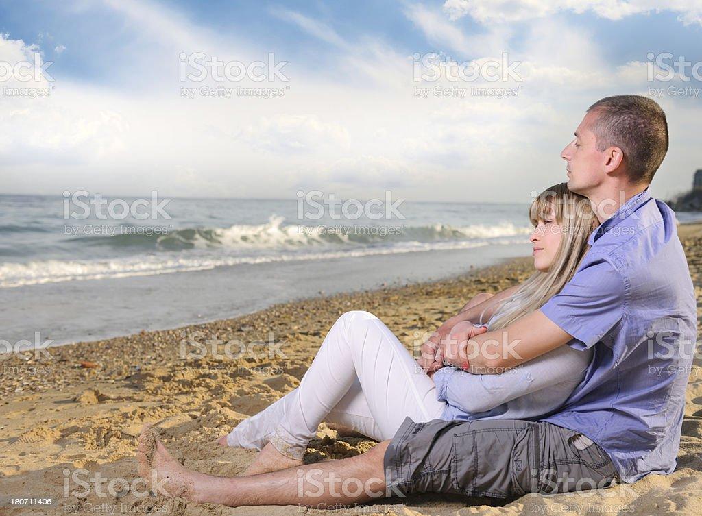 serene people royalty-free stock photo