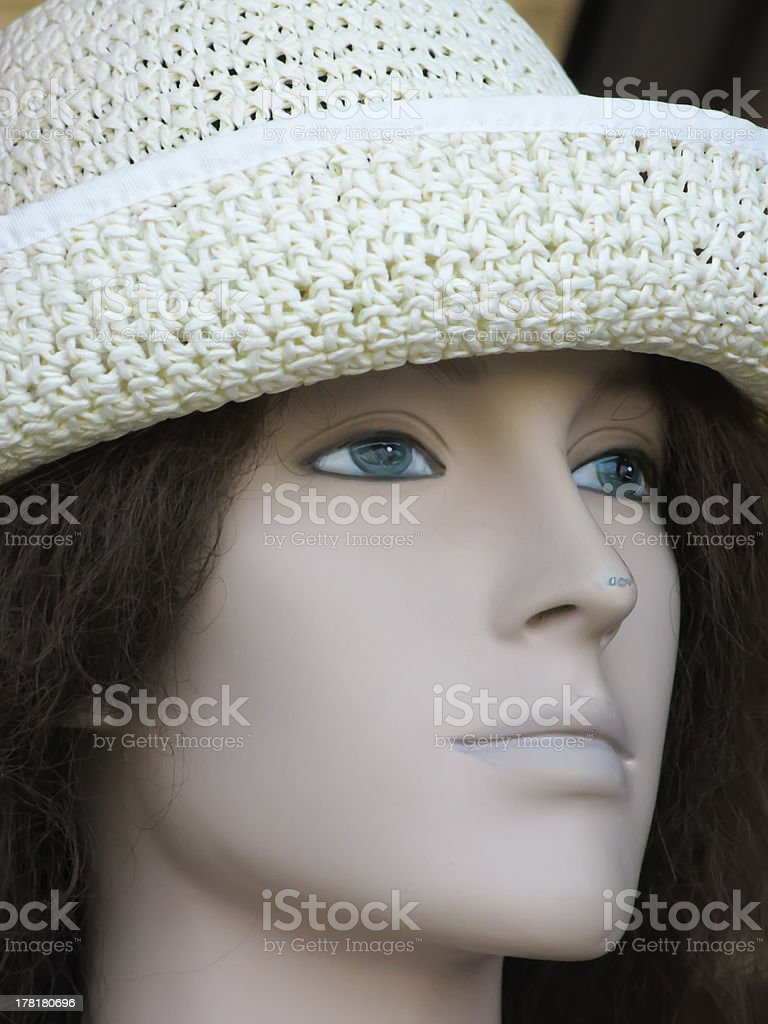 Serene young fake royalty-free stock photo