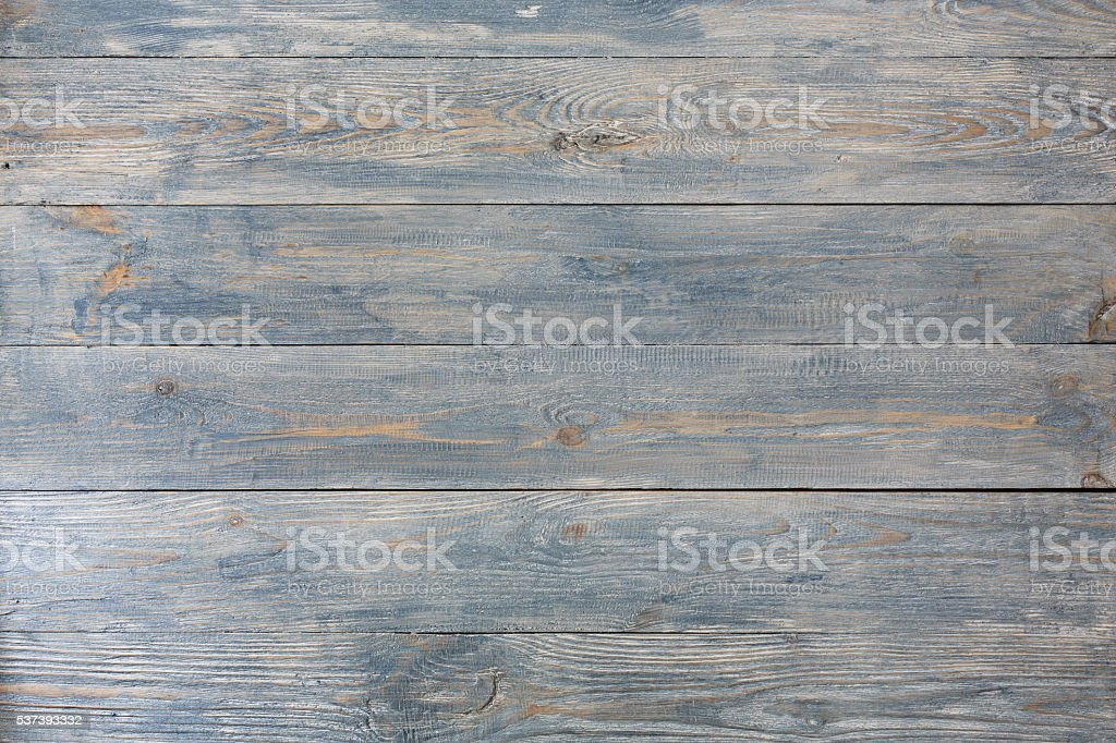 Serenity blue wood texture and background. stock photo