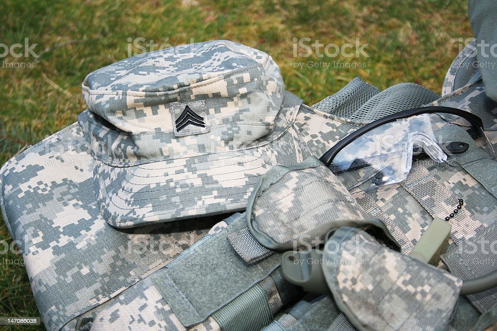 Sergeant Cap stock photo