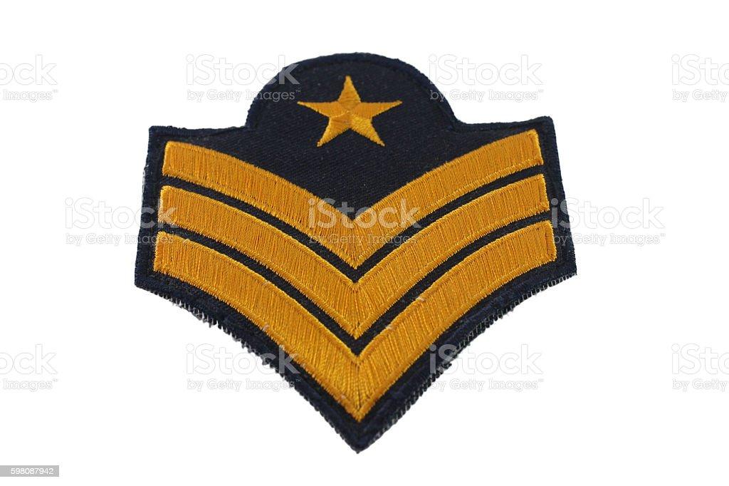Sergeant. stock photo