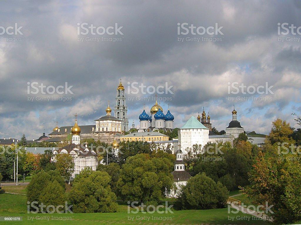 Sergiev Posad - Lavra royalty-free stock photo