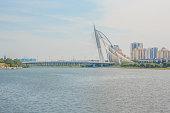 Seri Wawasan Bridge in Putrajaya, Malaysia