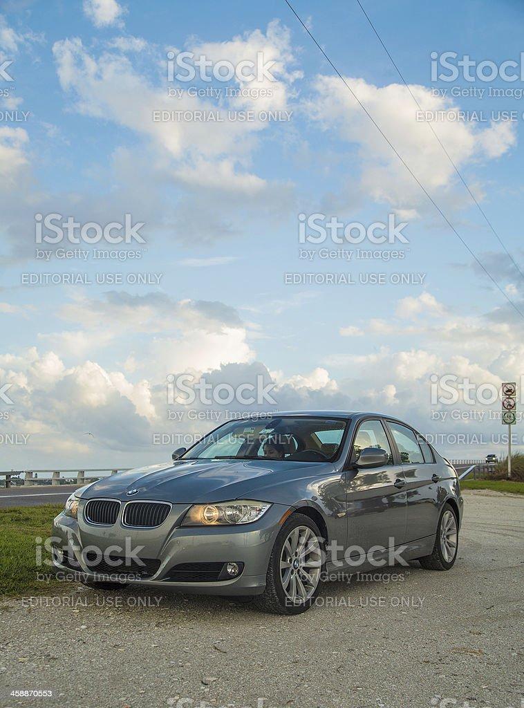 BMW 3 Series 328 royalty-free stock photo