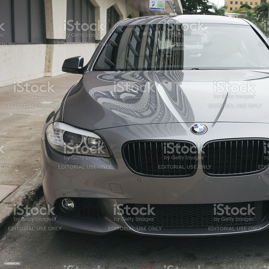 BMW 5 Series 535 stock photo