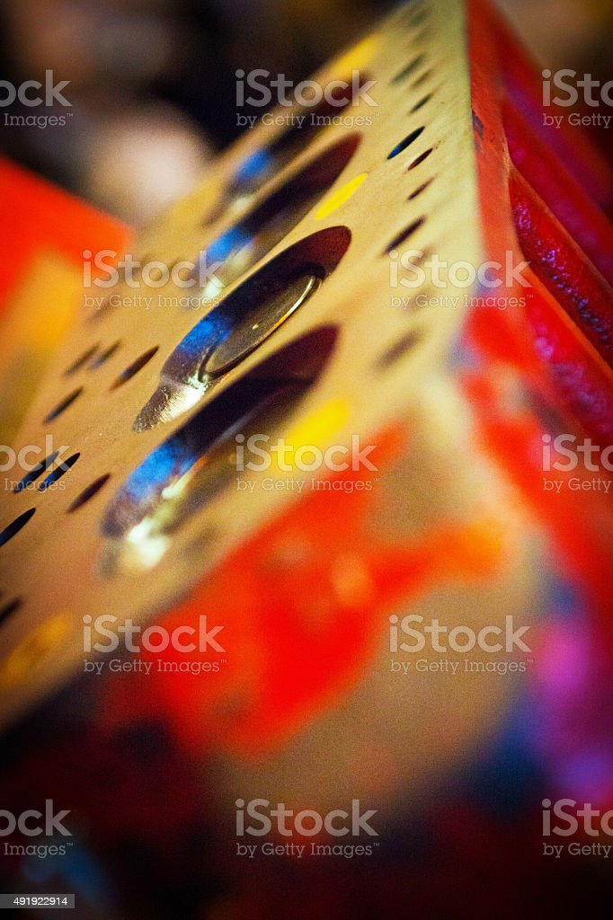 Series A Engine Cylinder Head stock photo