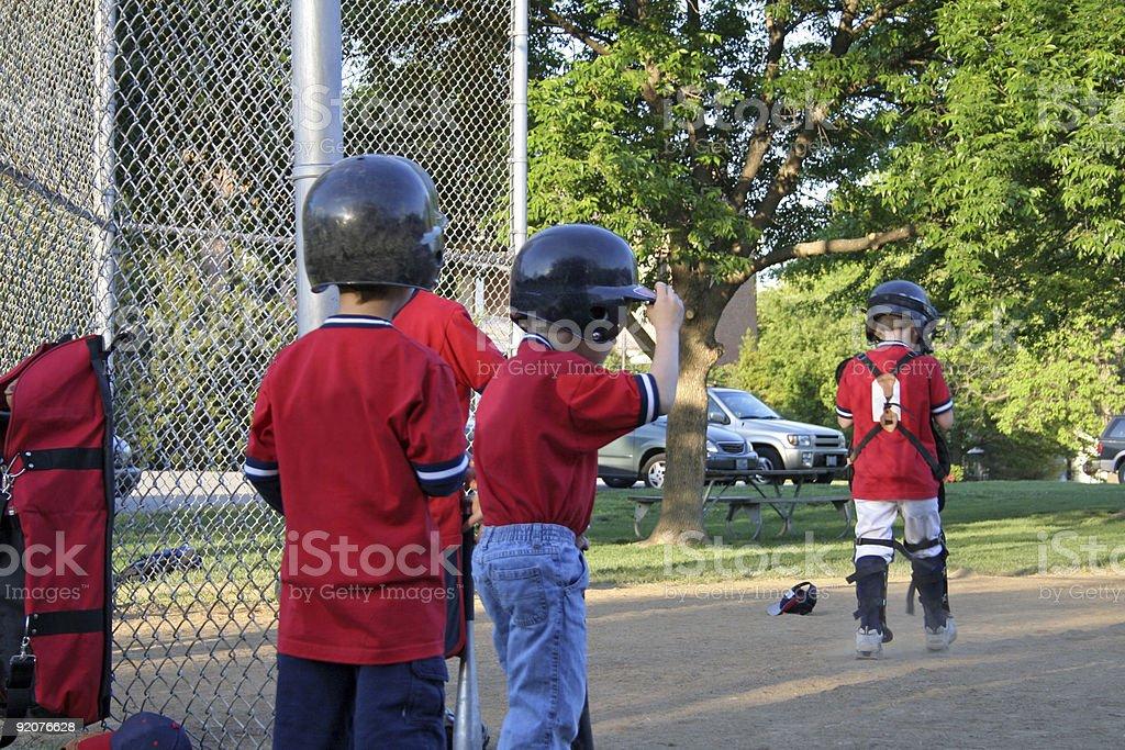 SPORTS series: Baseball royalty-free stock photo