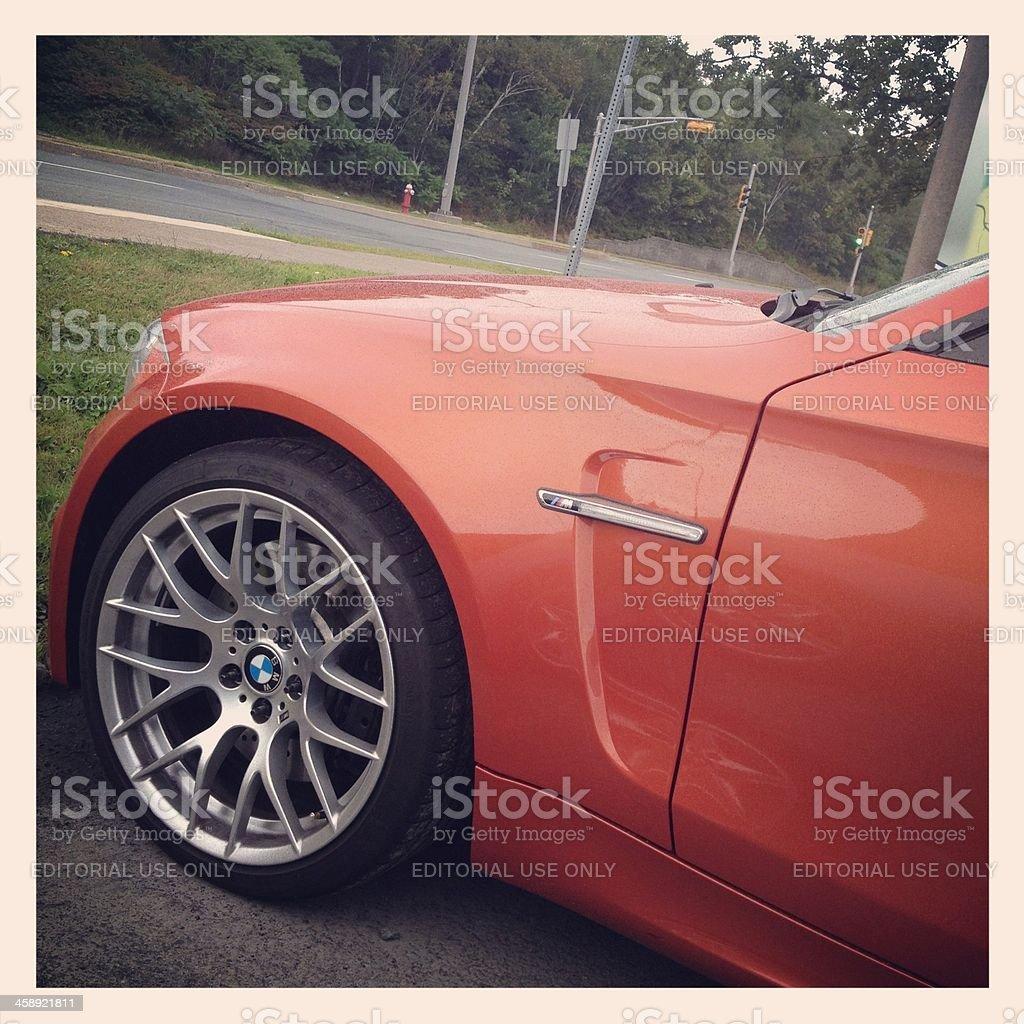 BMW 1 Series M stock photo