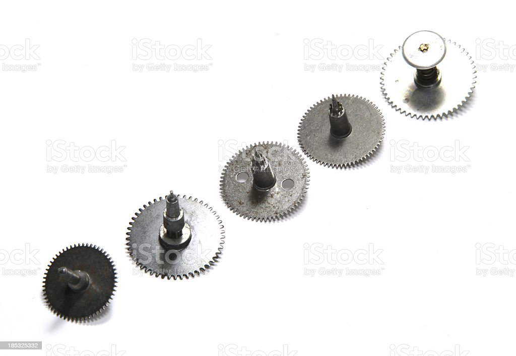 Series of Disks stock photo