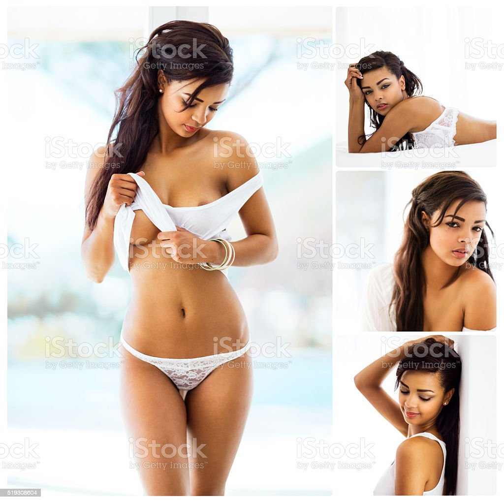 Series of sensuality stock photo
