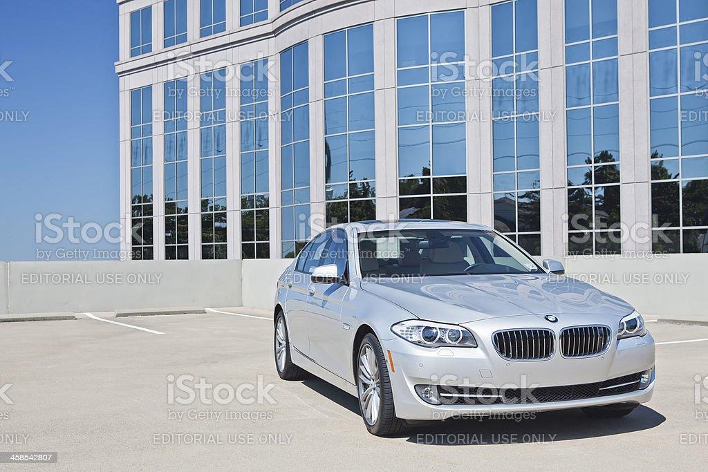 BMW 5 Series royalty-free stock photo