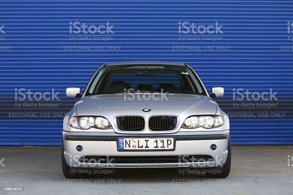 BMW 3 Series stock photo