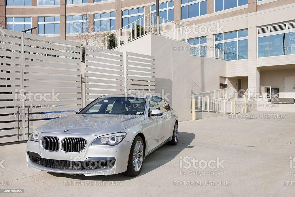 BMW 7 Series royalty-free stock photo