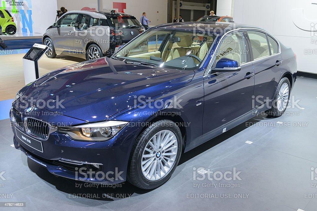 BMW 3 Series royalty-free stock photo
