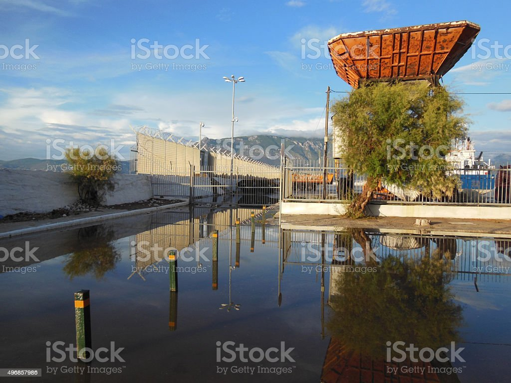 Series - Reflections on water @ XpX stock photo